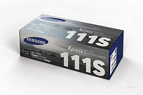 Samsung MLT-D111S, SU810A - Cartucho tóner original, de 1.000 páginas,...