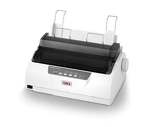 OKI ML1120 Eco - Impresora matricial de 9 Agujas, Color Blanco