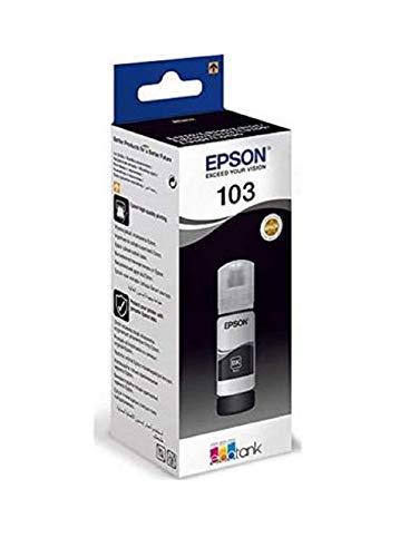 Tinta Negra Epson EcoTank 103 | Compatible con: L3110/L3150/L3151/L5190