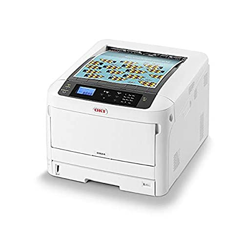 OKI C824dn Color 1200 x 600 dpi A3 - Impresora láser (LED, Color, 1200 x...