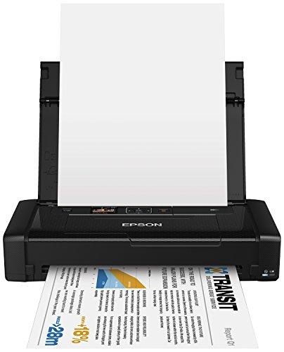 Epson WF100W, Impresora Color, Wifi, USB, 309 x 154 x 61 mm, Negro