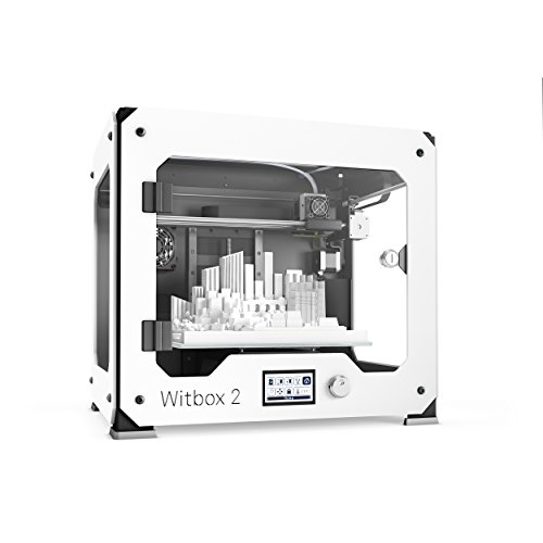 BQ Witbox 2 - Impresora 3D (resolución 20 micras, velocidad 200 mm/s, USB...