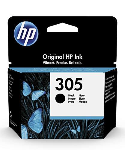 HP 305 3YM61AE, Negro, Cartucho Original de Tinta, Compatible con...