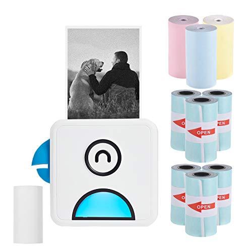 Aibecy1 mini impresora para movil, Poooli L1 Impresora fotográfica...