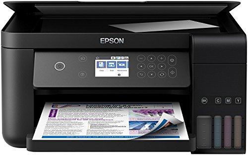 Epson EcoTank ET-3700, Impresora WiFi A4 Multifunción de Alto Rendimiento,...