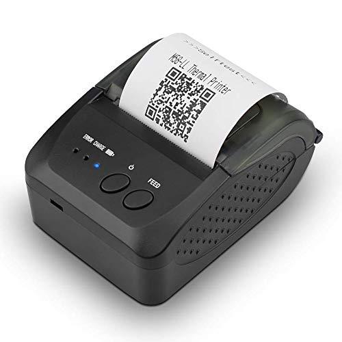 Impresora de Recibos Térmica 58mm Mini Bluetooth Portátil Impresoras POS...