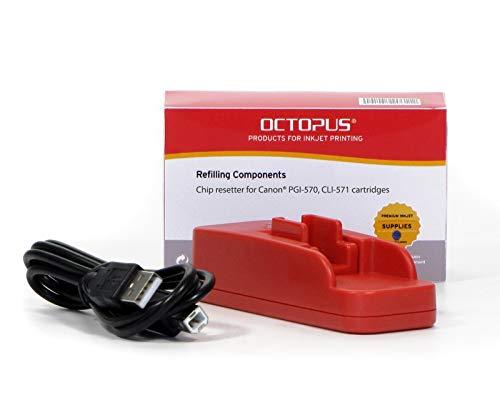 Octopus Chipresetter compatible con los cartuchos de tinta Canon PGI-570 y...