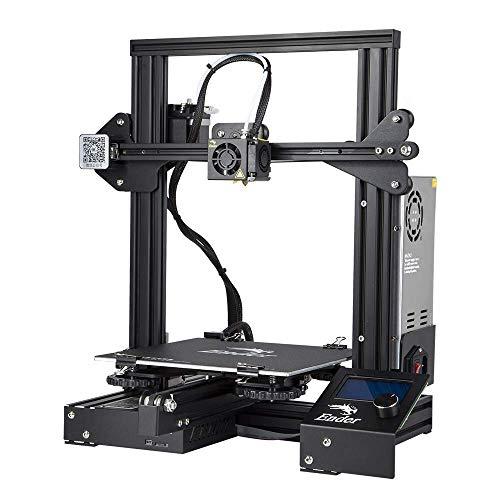 Comgrow Creality Ender 3 Impresora 3D de aluminio, Prusa i3, DYI, con...