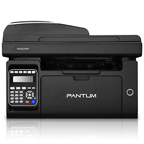 Pantum M6602NW Impresora multifunción láser monocromática con escáner...