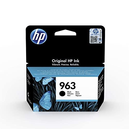 HP 963 3JA26AE, Negro, Cartucho de Tinta Original, compatible con...
