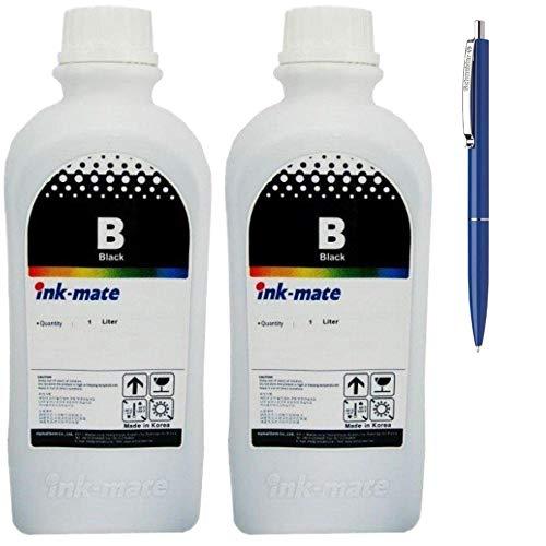 Ink-Mate Recambio de botella de tinta compatible para HP X4E40AE (GT51XL),...