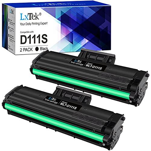 LxTek Compatible Reemplazo para Samsung MLT-D111S D111S Cartuchos de tóner...