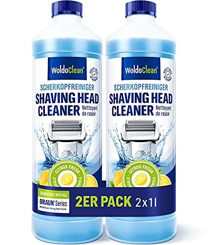 Limpiador de cabezales de afeitado para cartucho compatible con Braun –...