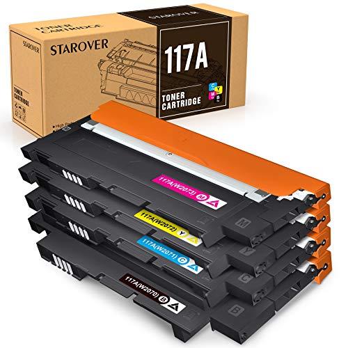 STAROVER 117A (con Chips) Cartuchos de Tóner compatibles, Tóner de...