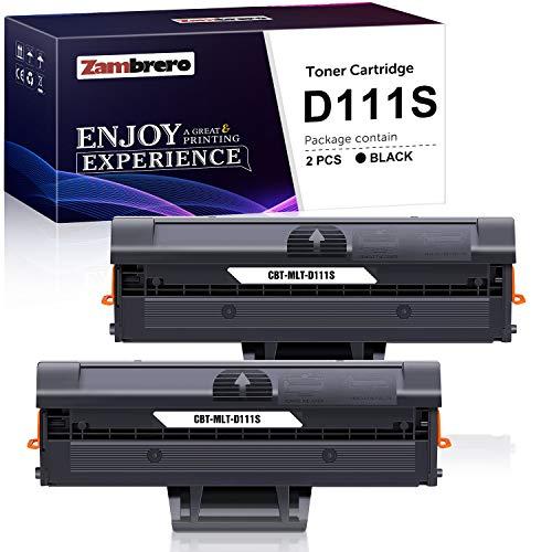Zambrero MLT-D111S D111S Cartucho Tóner Compatible para Samsung Xpress...