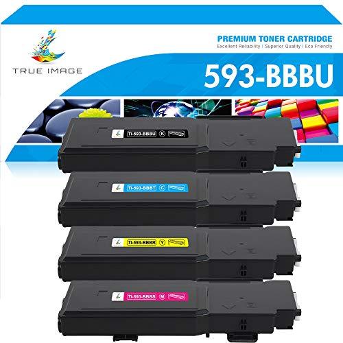 True Image Cartucho de tóner compatible para Dell 593-BBBU 593-BBBT...