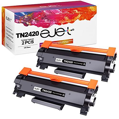 ejet Toner TN2420 Compatible para Brother TN2420 TN-2410 por Brother...