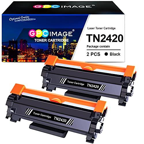 GPC Image TN2420 TN-2420 Cartuchos de tóner Compatible para TN2410 TN-2410...