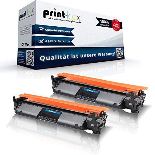 2 cartuchos de tóner compatibles con HP LaserJet Pro MFP M 148 FDW,...