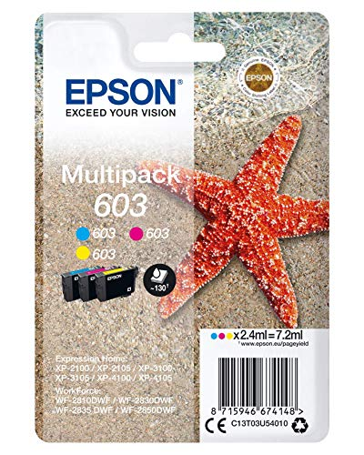 Epson C13T03U54010 Adecuado para XP2100 Tinta Color Nr.603 7,2ml