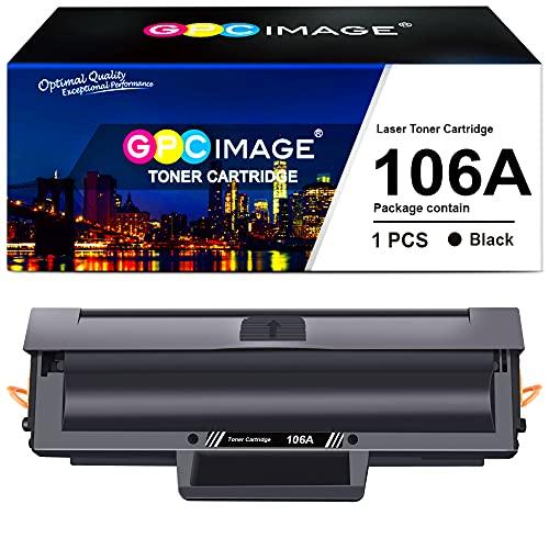 GPC Image 106A Cartuchos de tóner Compatible para HP 106A W1106A para HP...