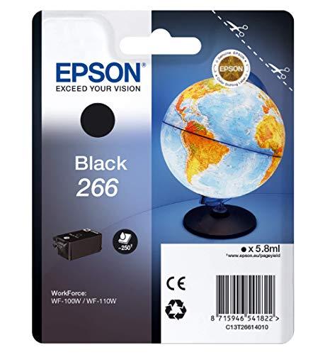 Epson C13T26614010 - Cartucho de tóner adecuado para WF100W, color negro...