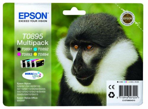 Epson C13T08954010 - Juego de 4 Tinta Epson Multipack válido para EPSON...
