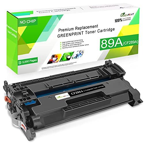 Cartucho de Tóner Compatible 89A CF289A Negro Capacidad Estándar 5000...