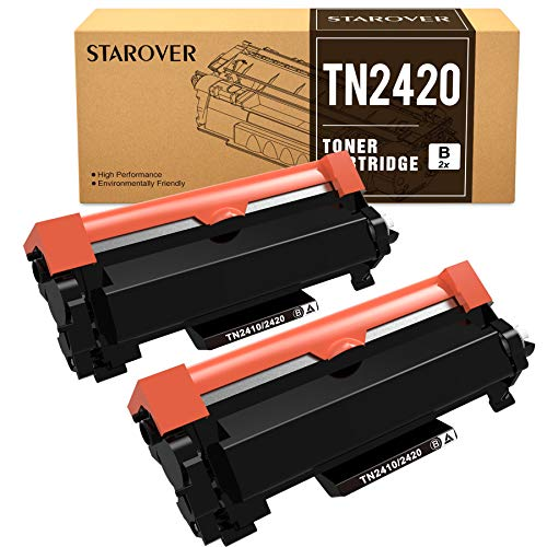 STAROVER TN-2420 TN2420 Cartucho Tóner Compatible para Brother MFC-L2710DN...
