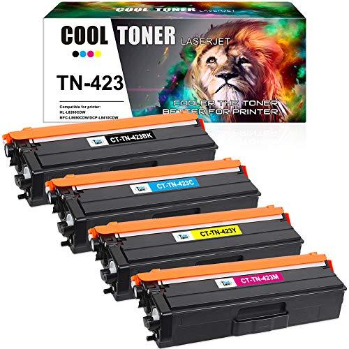 Cool Toner TN423 TN-423 Cartuchos de tóner Compatible para TN 423 421...