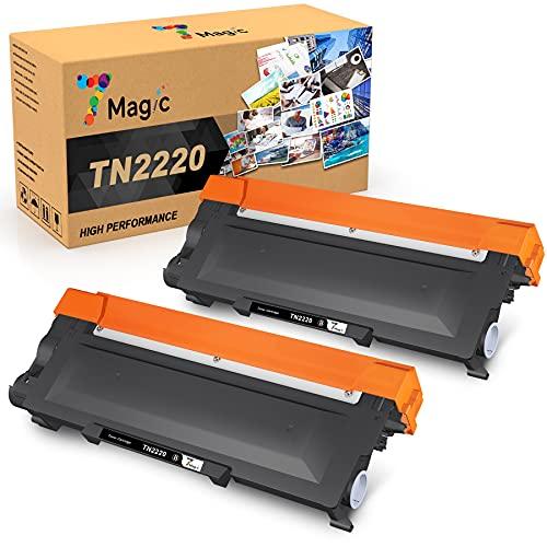 7Magic TN2220 TN2010 Cartucho de Tóner Compatible, para Brother MFC-7360N...