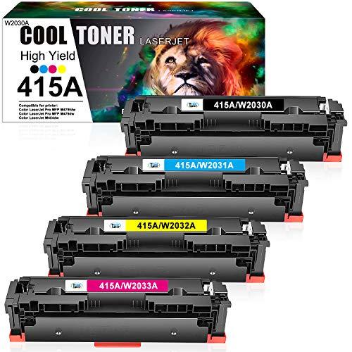 Cool Toner 415A 415X Cartuchos de tóner Compatible para Toner W2030A...