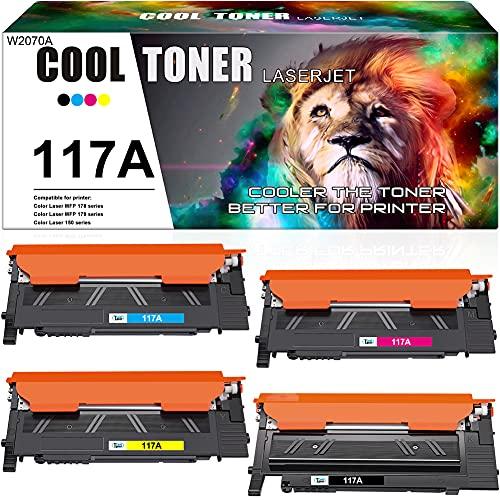 Cool Toner Cartucho de Toner Compatible con para Usar en Lugar de HP 117A...