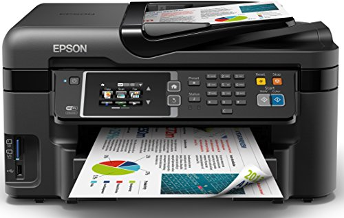 Epson Workforce WF-3620DWF Inyección de Tinta 19 ppm 4800 x 2400 dpi A4...