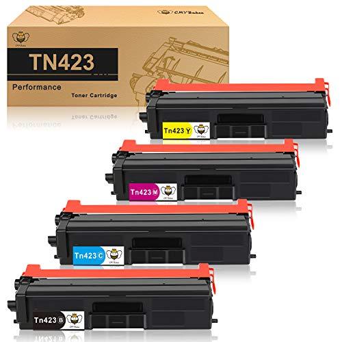 CMYBabee TN421 TN423 Cartucho de tóner Compatible para Brother TN-423...