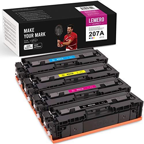 LEMERO UEXPECT 207A Compatible para HP 207A W2210A W2211A W2212A W2213A...
