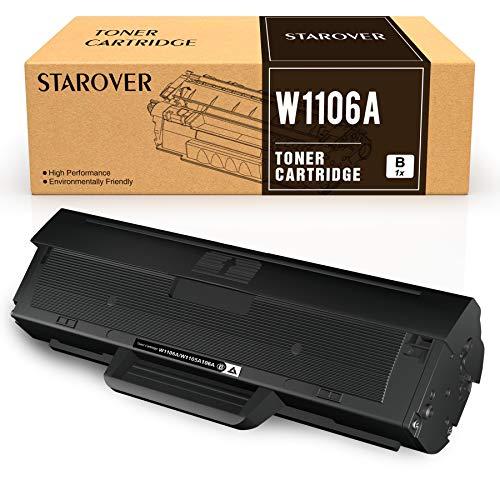 STAROVER 106A Reemplazo Compatible para HP 106A W1106A Cartuchos de Tóner...