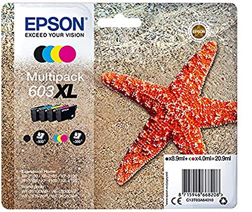 Epson Multipack 4-Colours 603XL Ink SUPL