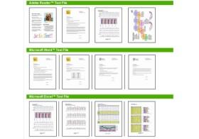 velocidad de impresión ISO 24734