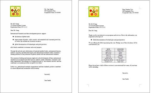 ISO/IEC 24734. Word pagina 1