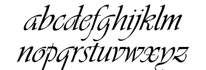 De dónde viene y para qué se usa la letra cursiva?