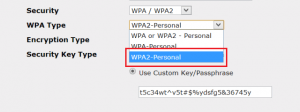 enable-wpa2-on-router