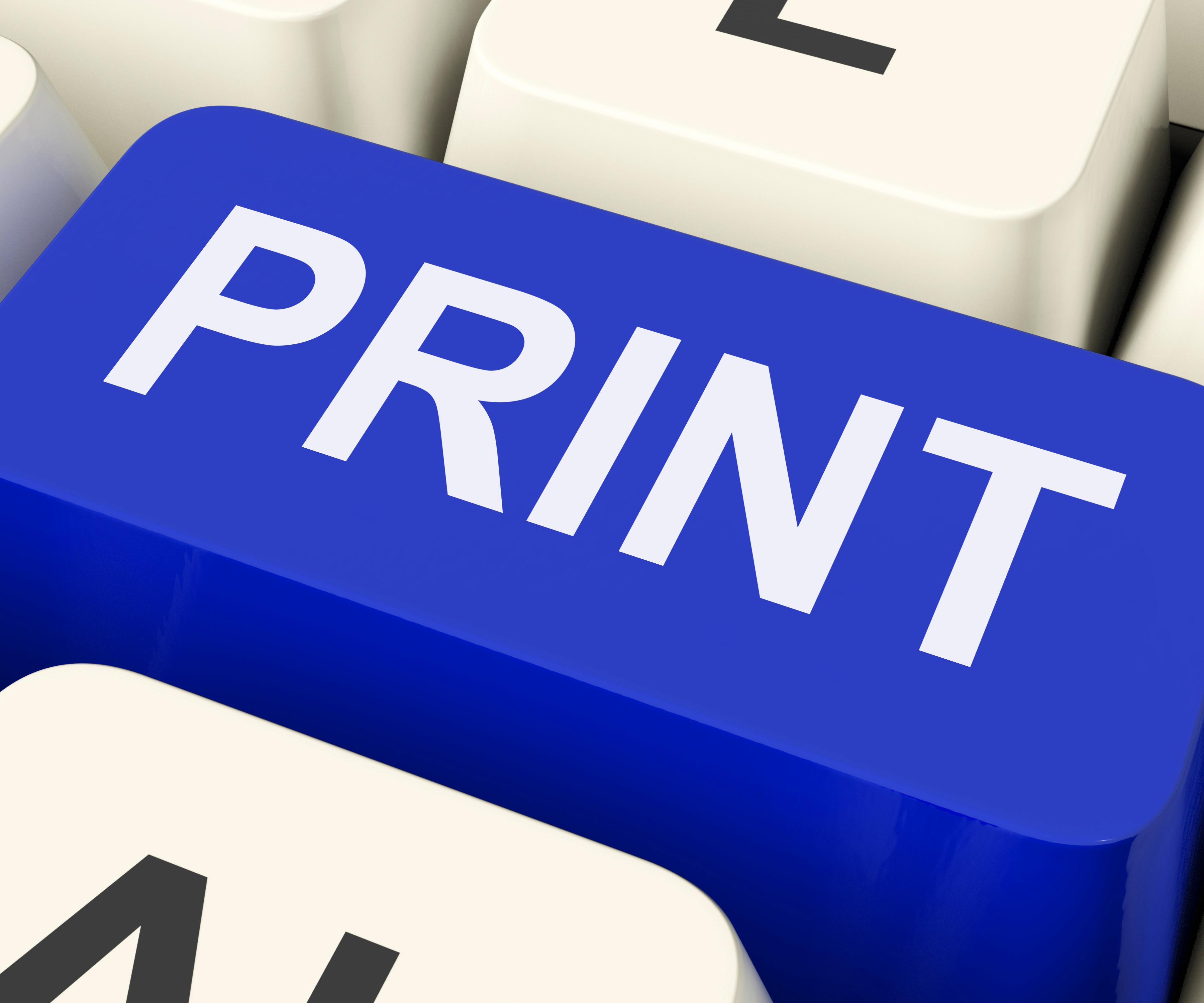 print key shows printer printing or printout zke1H4vO