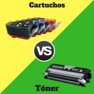 toner laser vs cartuchos de tinta