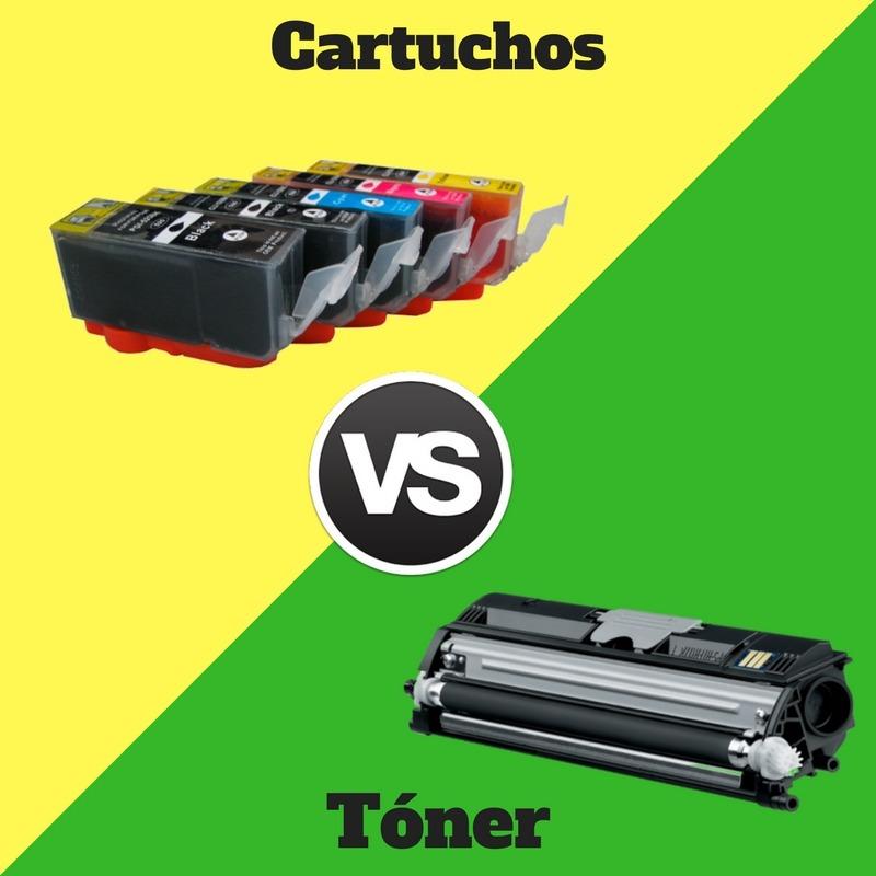 Cartuchos vs toner