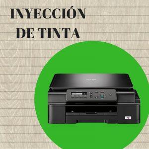 inyección de tinta