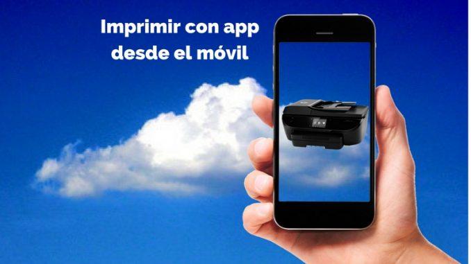 Imprimir con app desde el móvil 1 1