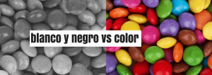 Color vs blanco y negro 1 min