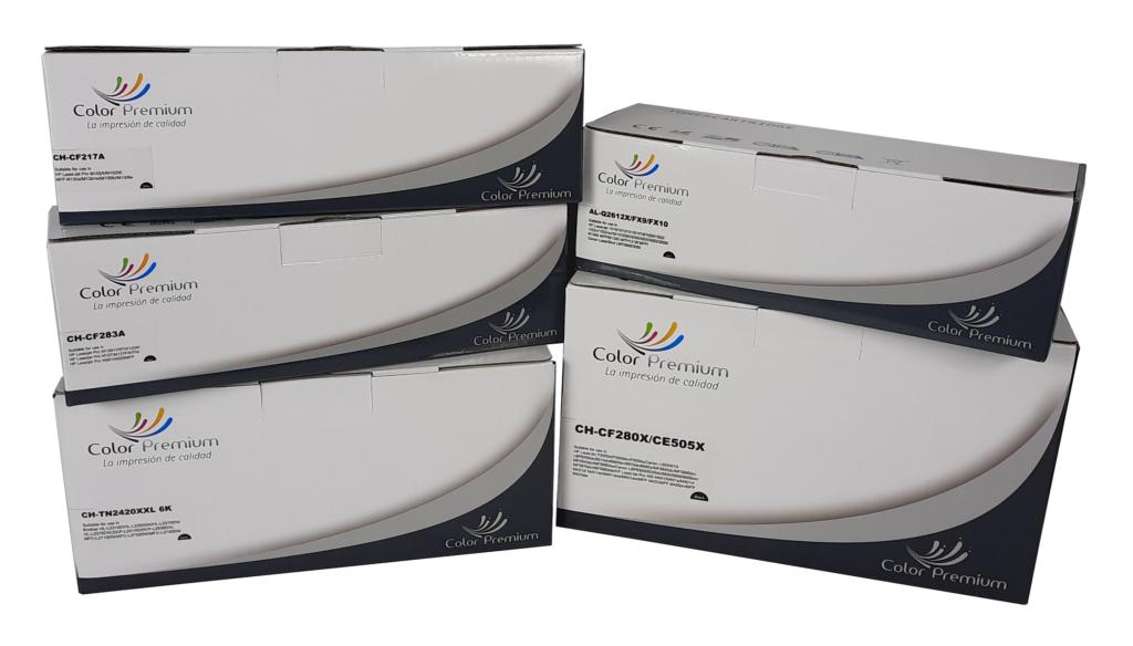 toner compatibles marca ColorPremium