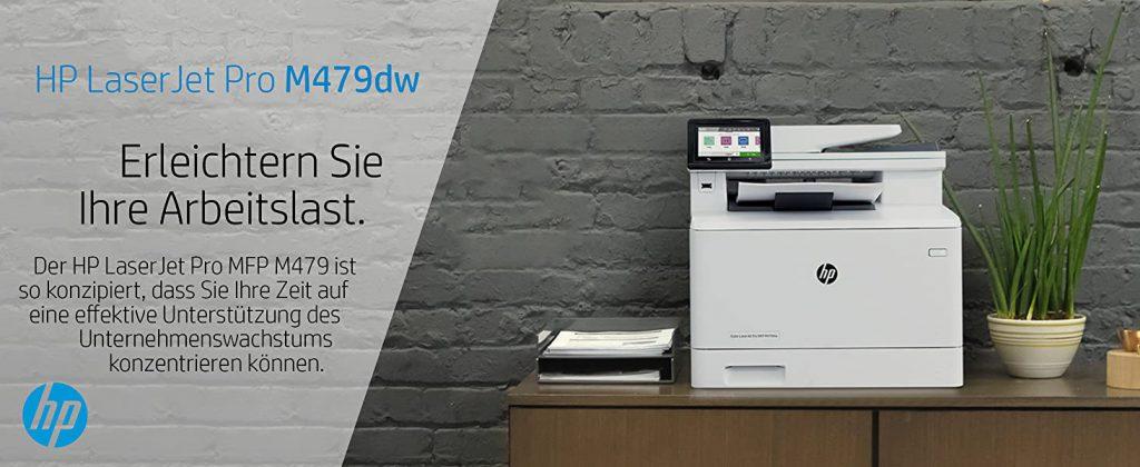 Impresora HP Color LaserJet Pro MFP M479DW